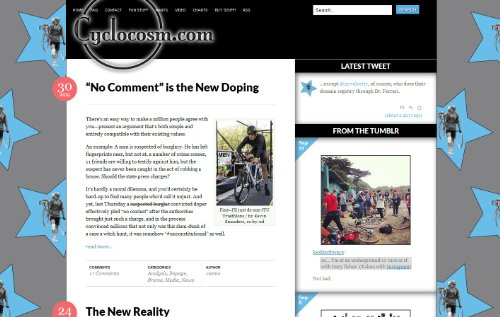 Cyclocosm - Pro Cycling Blog