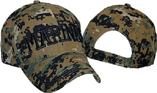 66a52e06d58 USA USMC MARINE CORPS MARINES CAP   HAT - MARPAT ACU CAMO Cap Hat by RFCO