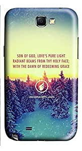 Samsung Note 2 Case Elevation Church Christmas Message235 3D Custom Samsung Note 2 Case Cover