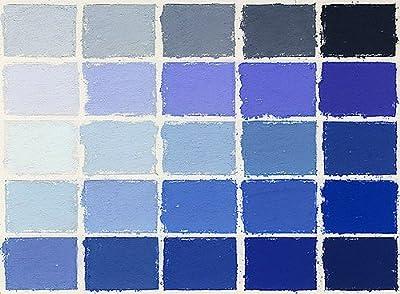 Mount Vision Pastel Company 25-Piece Blue Set