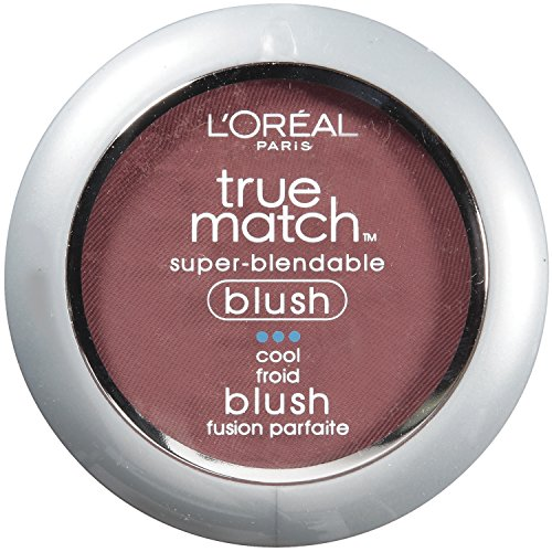 L'Oréal Paris True Match Super-Blendable Blush, Spiced Plum, 0.21 oz.