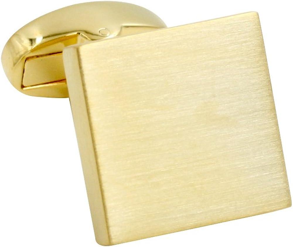 Premium Gemelos Gemelos de oro regalo para hombres cuffelinks Gemelos incluye caja