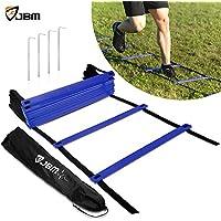 JBM international JBM Agility Ladder with Free Carry Bag...