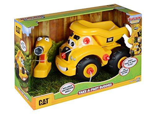 MPA Toy State Caterpillar CAT Buildin' Crew Take-A-Part B...
