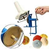 Metal Large Yarn Fiber Wool String Ball Winder Hand Operated Needlecraft Tool