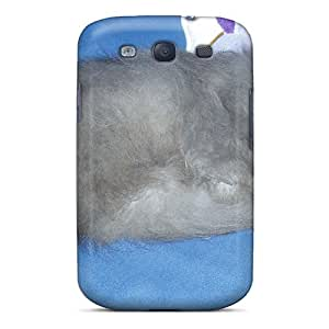 First-class Case Cover For Galaxy S3 Dual Protection Cover Blossom Trimmed Brushed Lookinggorgeous