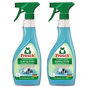 Frosch Natural Baking Soda Multi-Surface All Purpose Cleaner Spray, 500ml (Pack of 2)