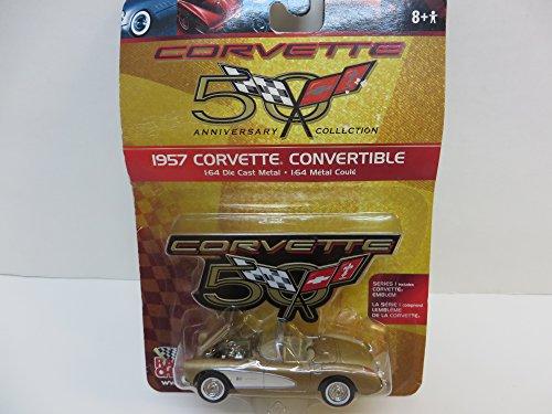 Racing Champions Corvette 50th anniversary collection 1957 Corvette Convertible Die Cast 1:64 Scale