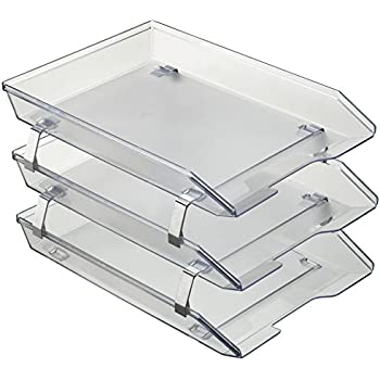 acrimet facility triple letter tray frontal crystal color - Color Tray