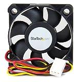 50mm case fan - StarTech.com 50x10mm Replacement Ball Bearing Computer Case Fan TX3/LP4 Connector FAN5X1TX3 (Black)