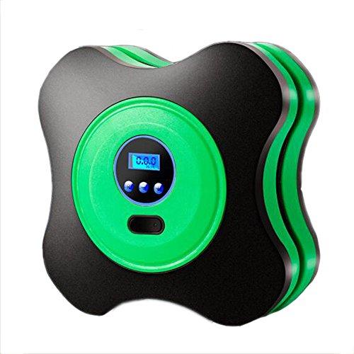ANDE Compresseur D'air Portable 12V Digital Compresseur Air Avec Lampe LED Câble2.8m Pompes électriques