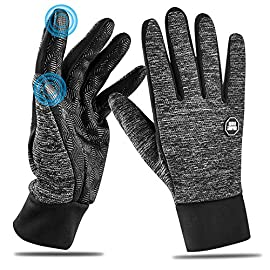 HOOMIL Winter Gloves for Men and Women, 2019 New Touchscreen Running Gloves Outdoor Sports Driving Cycling Windproof…