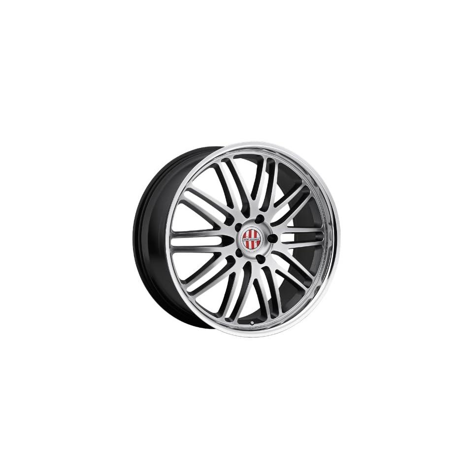19x11 Victor Lemans (Hyper Silver w/ Mirror Lip) Wheels/Rims 5x130 (1911VIL255130S71)