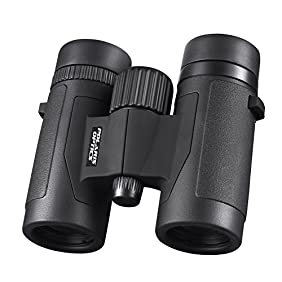 Polaris Optics Spectator 8X32 Compact Bird Watching Binoculars  Lightweight and Compact for Hours of Bright, Clear Bird Watching Great for Outdoor Sports Games and Concerts