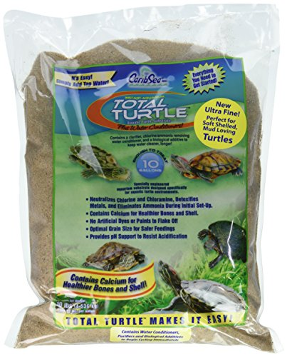 Blue Iguana Brand Instant Aquarium Total Turtle Ultra Fine Mud, 10 lb (Refugium Mineral Mud)