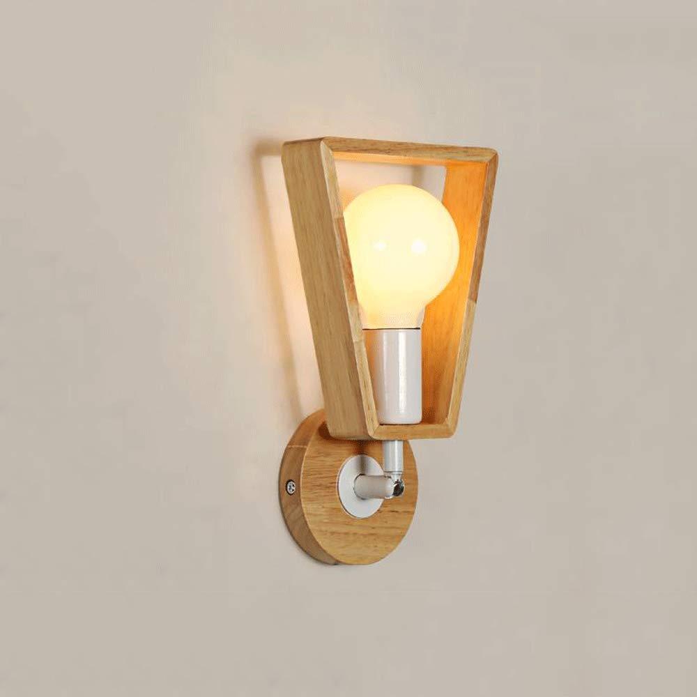 Xiao Yun   Japanisch-Stil Massivholz Wandlampe Schlafzimmer Nachttischlampe einfache kreative Gang Wandleuchte