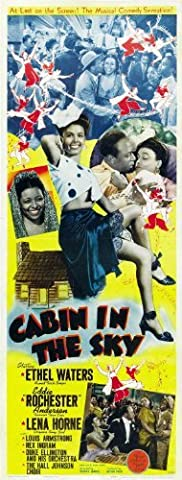Cabin in the Sky POSTER Movie (14 x 36 Inches - 36cm x 92cm) (1943) (Insert Style A) (The Anderson Tapes Dvd)