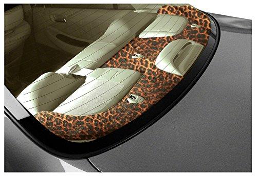 Coverking Custom Fit Rear Deck Cover for Select Passport Models - Velour (Cheetah)