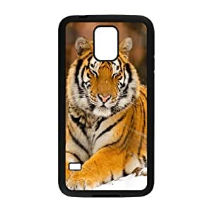 Powerful tiger Hard Shell Phone Case Cover For For Samsung Galaxy S5 Case color1