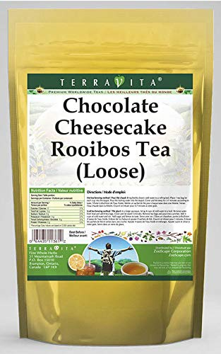 Chocolate Cheesecake Rooibos Tea (Loose) (8 oz, ZIN: 541364) - 3 Pack