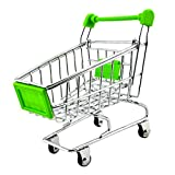 Imported Mini Shopping Cart Trolley Toy Green