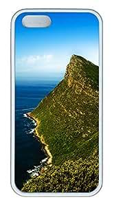 iPhone 5S Case Summer Seas PC Custom iPhone 5/5S Case Cover White