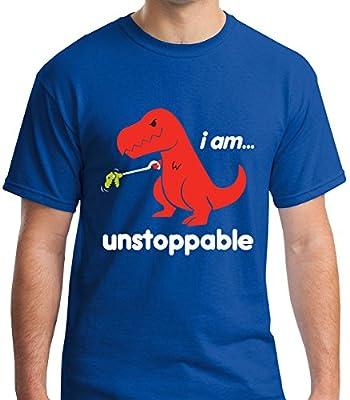 Ja T-Shirts Unstoppable T-Rex Funny T-Shirt