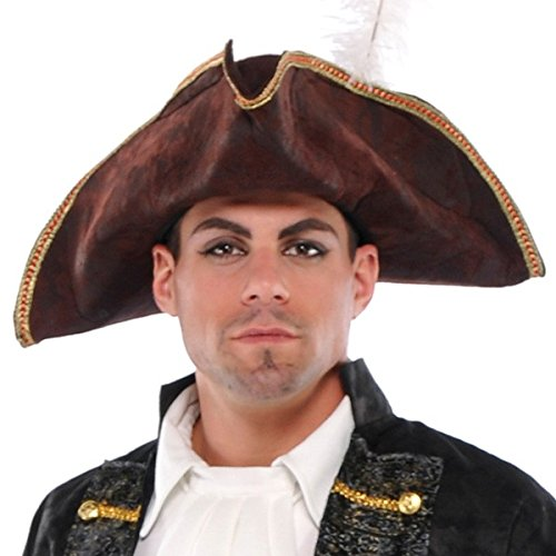 Amscan Pirate Tricorn Hat | Brown