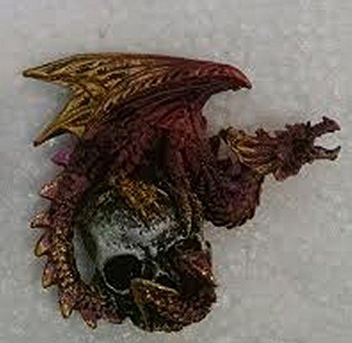 Buy george s. chen dragon with skull magnet red