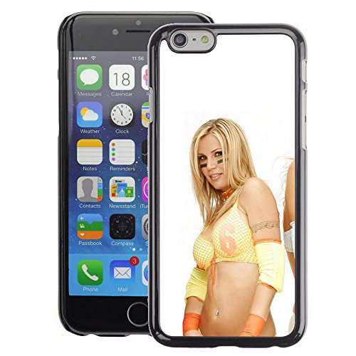 (Snap-on Series Plastic Back Case Shell Skin Cover for iPhone 6 , ( Football Cheerleader ))