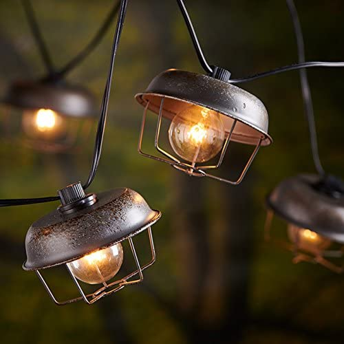 10ct Oversized Lantern String Light – Light Idea Indoor//Outdoor Use