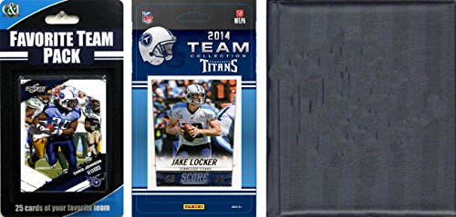 Tennessee Album - C&I Collectables NFL Tennessee Titans Licensed Trading Card Team Set with Storage Album