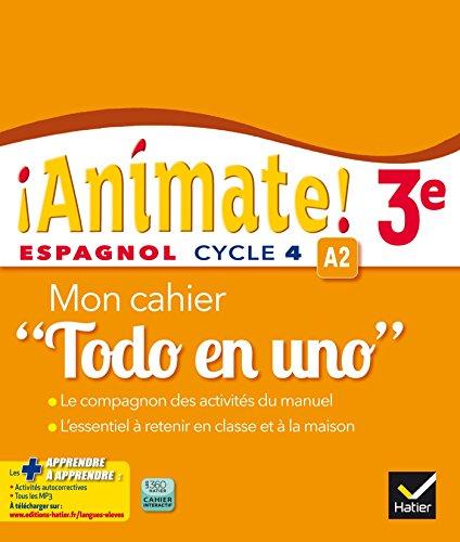 Telecharger Animate Espagnol 3e Ed 2016 Cahier D