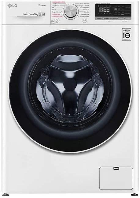 LAVADORA LG F4WN409N0 9KG 1400RPM A+++: Amazon.es: Grandes ...