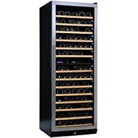 (DR) NFINITY PRO LX Dual Zone 187-Bottles Wine Cellar, Wine Cooler w/ Steel Door (S1011)