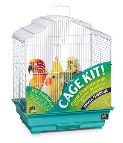 Prevue Pet Products 91330 Dometop Bird Cage Kit, My Pet Supplies