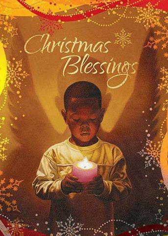 Amazon Com Christmas Blessings African American Christmas Card