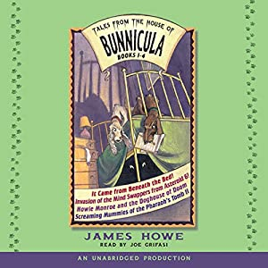 Tales From the House of Bunnicula: Books 1-4 Audiobook
