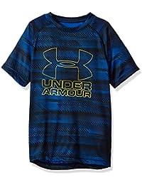 Boys Big Logo Printed T-Shirt