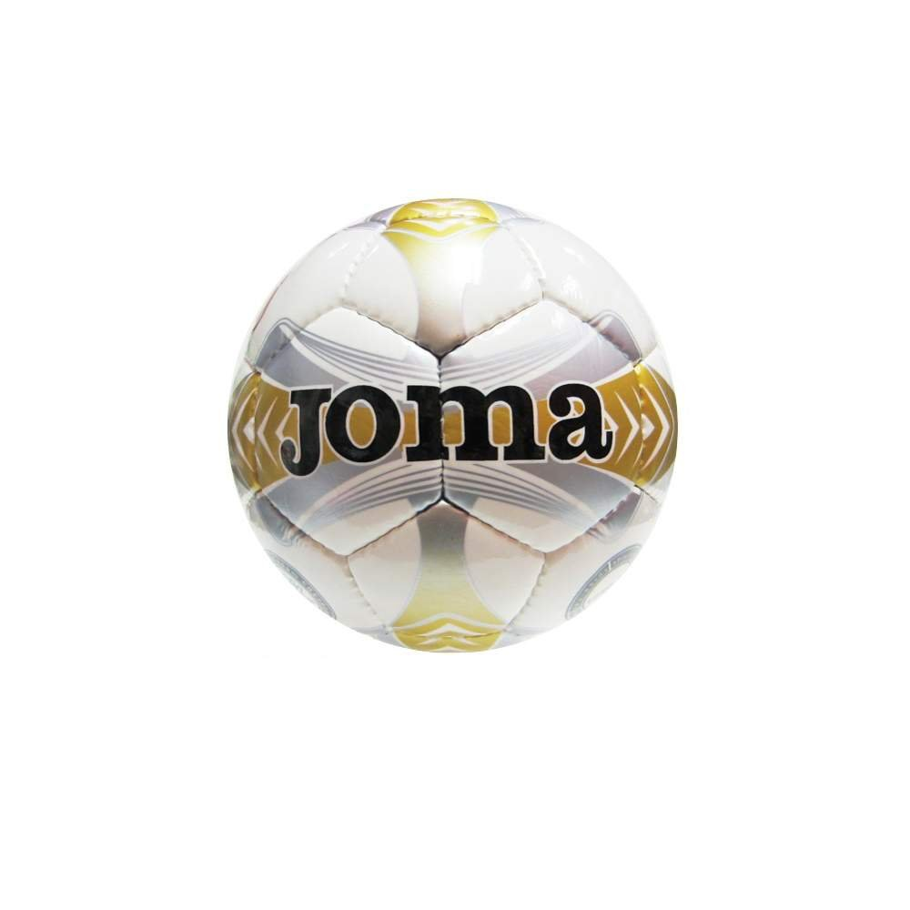 Joma Ropa de Deporte Balon Egeo Sala 64 cm T4 Bco-Argento-Oro ...