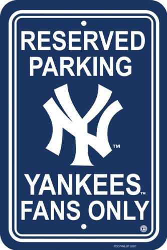 Ny Yankees Sign (Parking Sign - MLB Baseball - New York Yankees