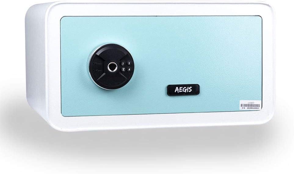 1.12 CF Biometric Fingerprint Safe Box - Safe Safety Box with Keys Jewelry Safe Box,Apply to Home Hotel Office