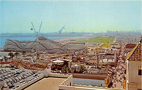 The Famous Pike and Fun Zome Long Beach, California, CA, USA Postcard Post - California In The Pike Long Beach