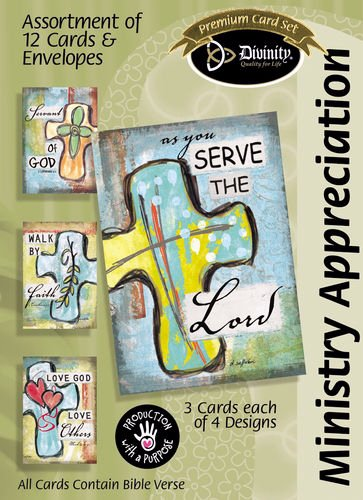 - Card-Boxed-Ministry Appreciation-Rounded Cross (Bo