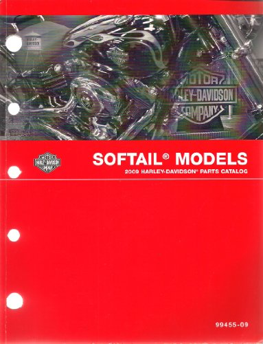 2009 Harley-Davidson Softail Parts Catalog, Part Number 99455-09 ()