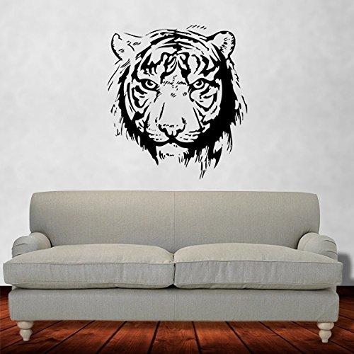 Adesivo de Parede Animais - Tigre - Es 150x135cm