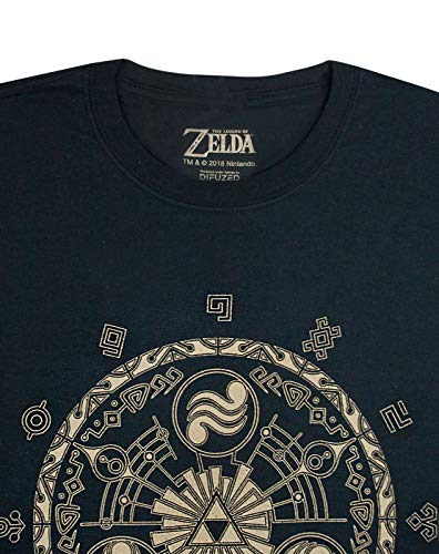 Short T Zelda Sleeve shirt Black Men 7q76gAOw