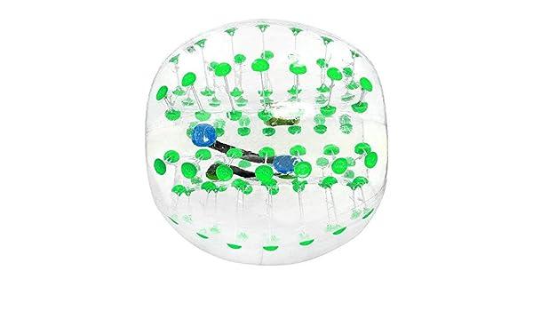 Bolas de burbujas de parachoques inflables, PVC Bola de burbujas ...