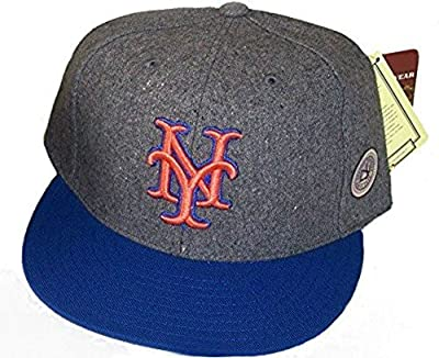 New York Mets WOOL Fitted Hat Cap Size 7 1/2
