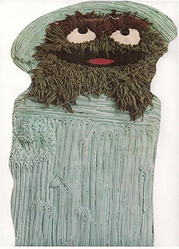 - Wilton Oscar the Grouch in Trash Can Cake Pan (502-7512, 1977) Jim Henson Sesame St. Muppets